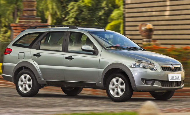 Fiat Palio Weekend JM Car